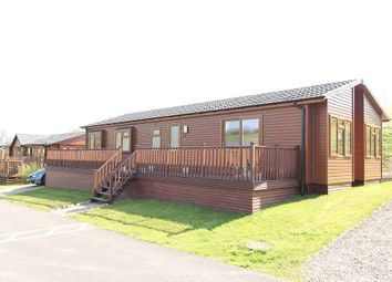 Thumbnail 3 bed mobile/park home for sale in Badgers Retreat Holiday Park, Tunstall, Richmond, North Yorkshire