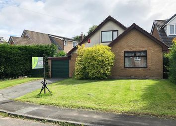 Thumbnail 3 bed detached house for sale in Crosfield Avenue, Summerseat, Bury, Lancs