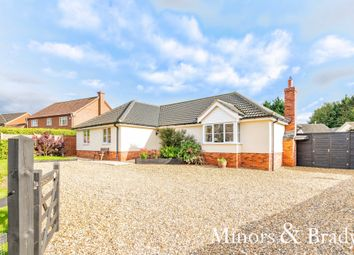 Thumbnail 3 bed detached house for sale in Church Street, Carbrooke, Thetford