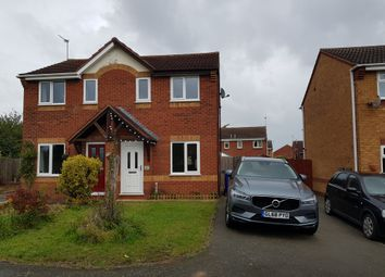 Thumbnail 2 bed semi-detached house to rent in Fontwell Road, Branston, Burton-On-Trent