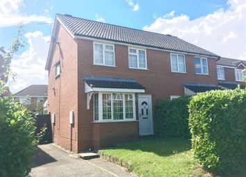 Thumbnail 3 bedroom semi-detached house for sale in Wright Drive, Scarning, Dereham