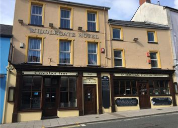 Thumbnail Hotel/guest house for sale in Middlegate Hotel, Main Street, Pembroke, Sir Benfro, UK