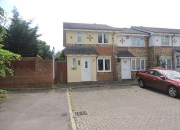 Thumbnail 3 bed end terrace house to rent in Spinnaker Close, Gosport