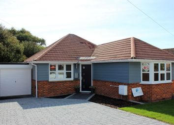Thumbnail 3 bed detached bungalow for sale in Coombe Vale, Saltdean