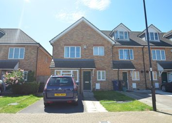 Thumbnail 4 bed end terrace house for sale in Doris Ashby Close, Perivale, Greenford