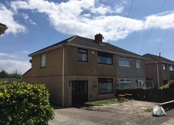 Thumbnail 3 bed property to rent in Llewelyn Park Drive, Morriston, Swansea