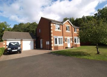 Thumbnail 4 bedroom detached house for sale in Edgefield Drive, Cramlington