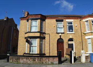 Thumbnail 6 bedroom terraced house to rent in Salisbury Road, Wavertree