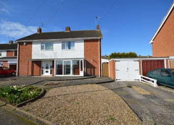 Thumbnail 3 bed semi-detached house for sale in Newhaven Road, Evington, Leicester