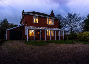 Thumbnail 4 bed detached house for sale in Raithby Road, Hundleby, Spilsby