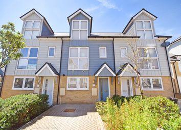 Thumbnail 3 bed terraced house for sale in Eton Walk, Folkestone