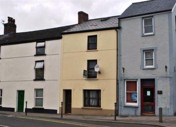 Thumbnail 1 bed flat to rent in Spilman Street, Carmarthen