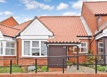 Thumbnail 1 bed terraced bungalow for sale in Ashdown Court, Cromer