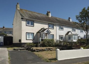 Thumbnail 3 bed end terrace house for sale in Torpoint, Cornwall, England