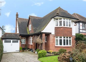 Thumbnail 4 bedroom detached house for sale in Bourne Avenue, Southgate