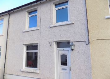 Thumbnail 2 bed terraced house to rent in Cambrian Street, Deri, Bargoed