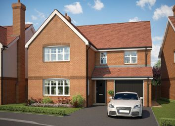 Thumbnail 4 bed detached house for sale in Ringwood Road, Ferndown