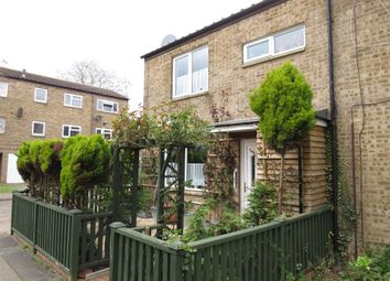 Thumbnail 3 bedroom end terrace house for sale in Clipston Walk, Ravensthorpe, Peterborough
