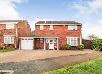 Thumbnail 4 bed detached house for sale in Leven Close, Leighton Buzzard