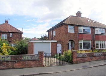 Thumbnail 3 bed semi-detached house for sale in Tentergate Avenue, Knaresborough