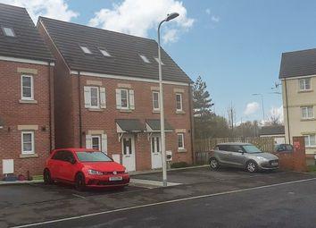 Thumbnail 3 bed semi-detached house for sale in Ffordd Cadfan, Brackla, Bridgend.