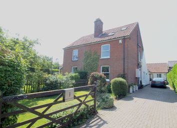 Thumbnail 4 bed semi-detached house for sale in Silfield Road, Silfield, Wymondham