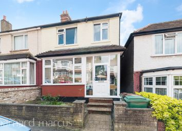 Thumbnail 3 bedroom end terrace house for sale in Moreton Road, Worcester Park