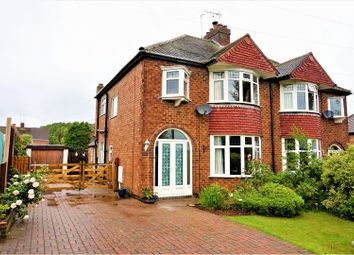 Thumbnail 3 bed semi-detached house for sale in Sandcliffe Road, Midway, Swadlincote