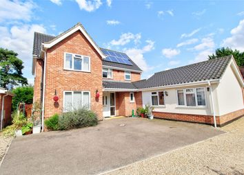 Thumbnail 5 bed detached house for sale in Wymbur Drive, Attleborough, Norfolk