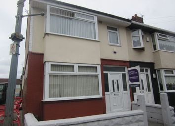 Thumbnail 3 bed end terrace house for sale in Gorton Road, Liverpool L134Dq
