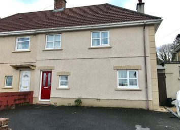 Thumbnail 3 bed semi-detached house for sale in Maesyrhaf, Cross Hands, Llanelli