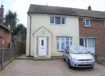 3 bed semi-detached house for sale in Rayleigh Drive, Leigh-On-Sea SS9