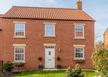 Thumbnail 4 bed semi-detached house for sale in Field View Close, Ampleforth, York