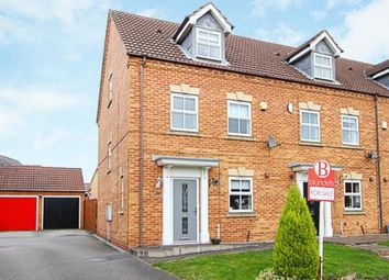 Thumbnail 3 bed end terrace house for sale in Green Close, Renishaw, Sheffield, Derbyshire
