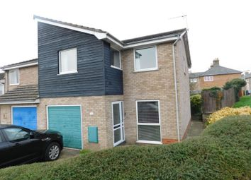 Thumbnail 4 bed end terrace house for sale in Edinburgh Close, Stowmarket