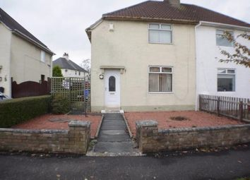 Thumbnail 2 bed semi-detached house for sale in James Sym Crescent, Kilmarnock, East Ayrshire