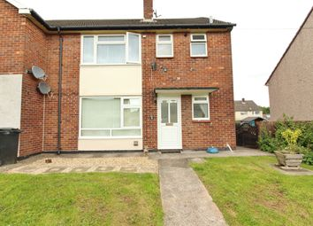 Thumbnail 1 bed flat for sale in Tees Close, Bettws, Newport