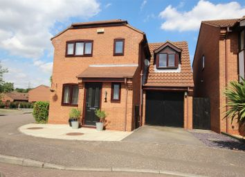 Thumbnail 3 bed detached house for sale in Barford Close, Orton Longueville, Peterborough