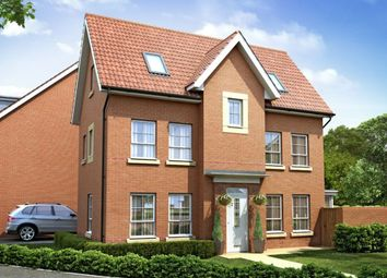 "Thumbnail 4 bed detached house for sale in ""Hexham"" at Harbury Lane, Heathcote, Warwick"