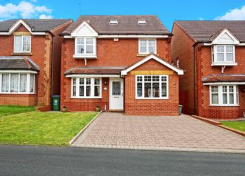 Thumbnail 6 bed detached house for sale in The Primroses, Walsall