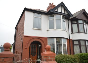 Thumbnail 3 bed semi-detached house for sale in Eaton Avenue, Blackpool