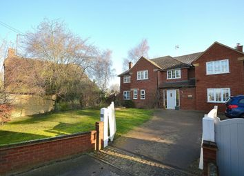 Thumbnail 4 bed detached house for sale in The Green, Roade, Northampton