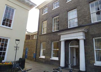 Thumbnail 1 bedroom flat to rent in Athenaeum Lane, Bury St. Edmunds