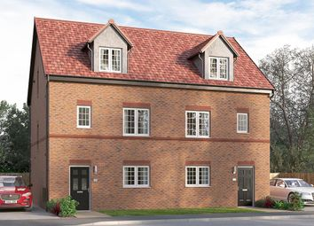 "Thumbnail 4 bed semi-detached house for sale in ""The Ulbridge"" at Steeplechase Way, Market Harborough"