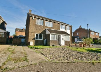Thumbnail 3 bed semi-detached house for sale in West Acre Drive, Old Catton, Norwich