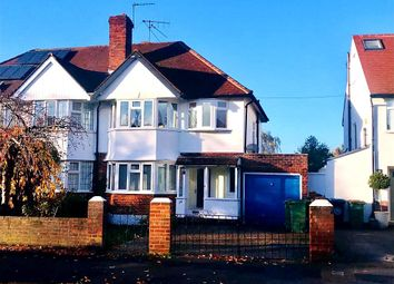 Thumbnail 3 bed semi-detached house for sale in Rushett Road, Thames Ditton