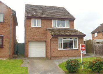 Thumbnail 4 bed detached house for sale in Redbrook Close, Hereford