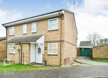 Thumbnail 2 bed semi-detached house for sale in Fieldfare Close, Spixworth, Norwich