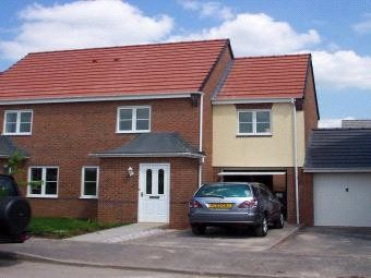 Thumbnail 3 bed semi-detached house for sale in Emperor Close, Carrington Point, Nottingham