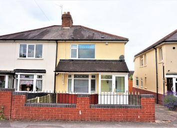 Thumbnail 3 bedroom semi-detached house for sale in Wood Lane, Pelsall, Walsall
